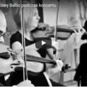 Kwartet smyczkowy Baltic podczas koncertu